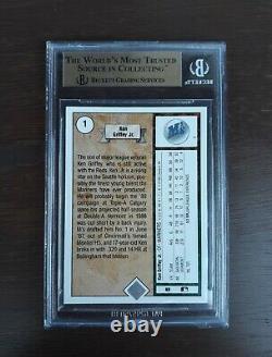 1989 Ken Griffey Jr. Upper Deck #1 Rookie-Graded BGS 9.5 Gem-Mint