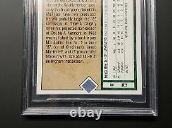 1989 Upper Deck Ken Griffey Jr. #1 Rookie Rc Gem Mint Bgs 9.5 = Psa 10