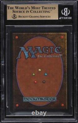 1993 Magic The Gathering MTG Unlimited Black Lotus R A BGS 9.5 GEM MINT