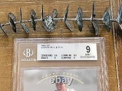 1993 SP DEREK JETER FOIL #279 ROOKIE YANKEES BGS 9 with GEM MINT 9.5 = PSA