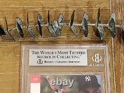 1993 SP FOIL DEREK JETER #279 RC ROOKIE CARD BECKETT BGS 9 with GEM MINT 9.5