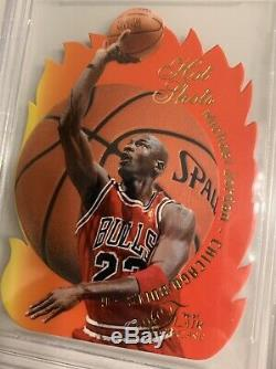 1996-97 Flair Showcase Michael Jordan Hot Shots #1 Bgs 9.5 Gem Mint