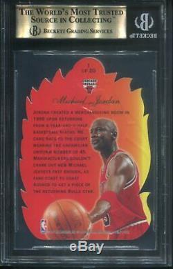 1996 Flair Showcase #1 Michael Jordan Hot Shots BGS 9.5 Gem Mint Chicago Bulls