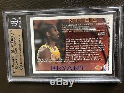 1996 Topps Chrome Refractor Kobe Bryant RC #138 BGS 9.5 GEM MINT