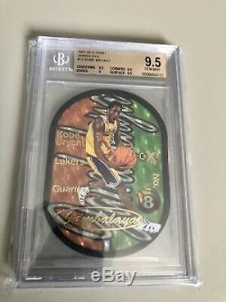 1997-98 Skybox E-x2001 Jambalaya Kobe Bryant #12 Bgs 9.5 Gem Mint