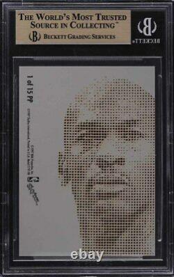 1997 Metal Universe Platinum Portraits Michael Jordan #1 BGS 9.5 GEM MINT