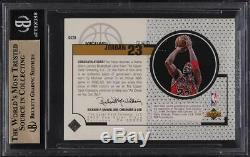 1998 Upper Deck Game Jerseys Michael Jordan PATCH #GJ20 BGS 9.5 GEM MINT