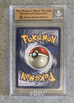 1999 Pokemon, Charizard / Glurak, 1. Edition, BGS 9,5 Quad + GEM MINT, PSA10