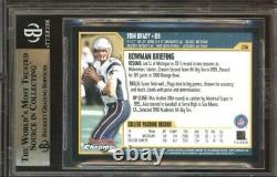 2000 Bowman Chrome #236 Tom Brady RC Rookie BGS 9.5 GEM MINT = PSA 10