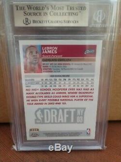 2003-04 Topps Chrome #111 LeBron James RC Rookie BGS 9.5 Gem Mint