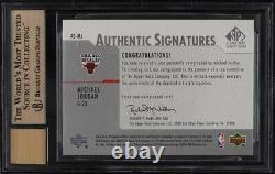 2003 SP Signature Edition Michael Jordan AUTO #MJ BGS 9.5 GEM MINT