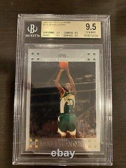 2007-08 Topps Chrome #131 Kevin Durant Rookie BGS 9.5 True Gem Mint! All 9.5