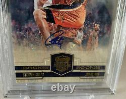2009 STEPHEN CURRY ROOKIE AUTO COURT KINGS /649 BGS 9.5 X4 With10 AUTO GEM MINT