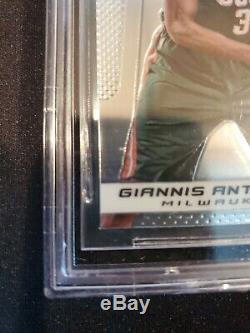 2013/14 PANINI PRIZM #290 GIANNIS ANTETOKOUNMPO RC BGS 9.5 GEM MINT Rookie Bucks
