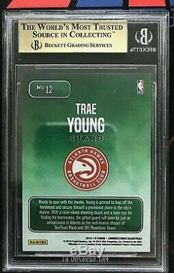 2018-19 Panini Cornerstones Trae Young Downtown Rookie BGS 9.5 Gem Mint RC