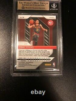 2018-19 Trae Young Red Prizm RC /299 BGS 9.5 Gem Mint