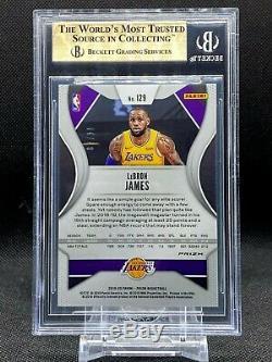 2019-20 Prizm Lebron James FOTL Gold Shimmer /10 BGS 9.5 True Gem Mint+ Lakers