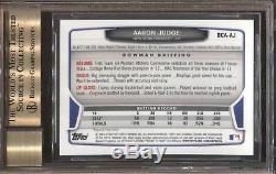 BGS 9.5 AUTO 10 AARON JUDGE 2013 Bowman Chrome Draft BCA-AJ Rookie RC GEM MINT