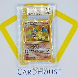 BGS 9.5 GEM MINT Charizard 1st Edition Base DUTCH Pokemon Holo 1999 WOTC Clean