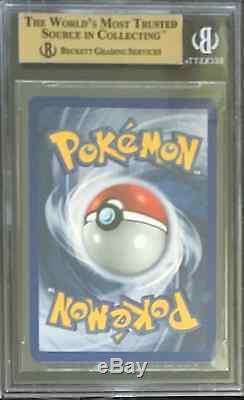 BGS 9.5 with10 BLASTOISE 1999 Pokemon Base 1st Edition #2 Holo Shadowless GEM MINT
