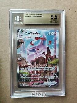 Espeon VMAX 189/S-P S6a Promo (Eevee Heroes) Beckett BGS 9.5 GEM MINT-US SELLER