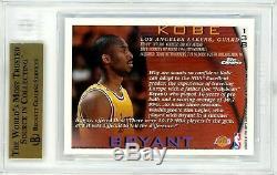 KOBE BRYANT 1996-97 Topps Chrome Rookie BGS 9.5 GEM MINT Lakers RC #138 MVP