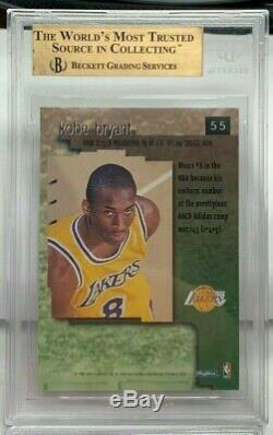 Kobe Bryant 1996-97 Skybox Premium RC #55 RUBBIES RUBY Parallel BGS 9.5 GEM MINT