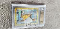 Kobe bryant 1996-97 RC finest gold refractor BGS gem mint quad 9.5's