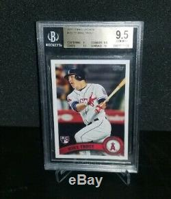 MIKE TROUT 2011 Topps Update #US175 BGS Gem Mint 9.5 with 10 RC
