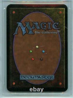 MTG Alpha Black Lotus BGS 9.5 Gem Mint Rush Signed Magic card Amricons 3480