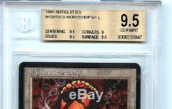 MTG Antiquities Mishra's Workshop BGS 9.5 Gem Mint Card Magic Amricons 5847