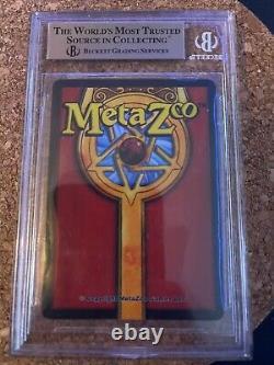 MetaZoo Sample Mothman Full Holo BGS 9.5 GRAIL