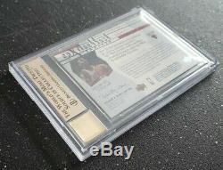 Michael Jordan 2003-04 Spx Flashback Auto Jersey /23 Autograph Bgs 9.5 Gem Mint