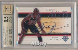 Michael Jordan 2005/06 Ultimate Collection Mvp Auto Sp #4/5 Bgs 9.5 Gem Mint 10