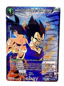 PSA 10 Son Goku & Vegeta Saiyan Synergy Winner Dragon Ball Super TCG BGS GEMMINT