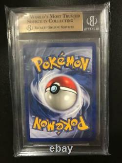 Pokemon 1999 Glurak Charizard 1. Edition BGS 9.5 Gem Mint Graded Base Set