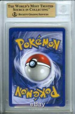 Pokemon 4/102 Charizard Holographic Holo Foil Dutch Beckett Bgs 9.5 Gem Mint