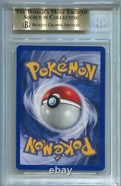 Pokemon Card 1st Edition Shadowless Charizard Base Set 4/102, BGS 9.5 Gem Mint