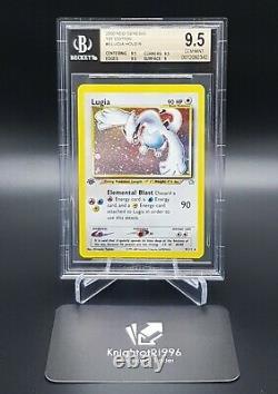 Pokemon Lugia 1. Edition BGS 9.5/ PSA10 GemMint Graded 2000 Neo Genesis English