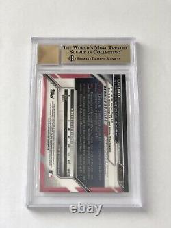 Tatis + Soto + Acuna Bowman Chrome Auto Rc (quad) 9.5 Bgs +10 Gem Mint Autograph