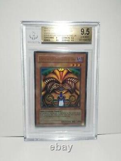 Yu-Gi-Oh! BGS 9.5 Gem Mint Exodia the Forbidden One LOB-124 1st Ultra PSA 10