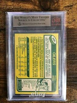 1980 Hockey O-pee-chee Wayne Gretzky #250 Bvg / Bgs 9.5 Gem Mint