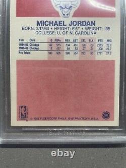 1986 Fleer Basketball Michael Jordan Rookie Card Rc #57 Bgs 9.5 Graded Gem Mint