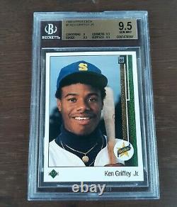 1989 Ken Griffey Jr. Deck Supérieur #1 Rookie-graded Bgs 9.5 Gem-mint