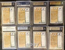 1989 Pont Supérieur Ken Griffey Jr Psa 10 Bgs 10 (lot 8 Cards) Low Pop Hot Gems Article