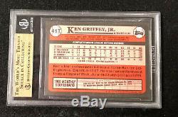 1989 Traded Tiffany Brillant Topps Ken Griffey Jr # 41t Bgs 9,5 Gem Mint (bb Mo)