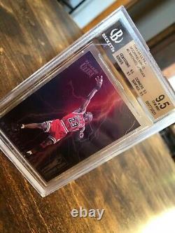 1993-94 Ultra Scoring Kings Michael Jordan #5 Bgs 9.5 Pure Gem Mintall 9.5 Subs