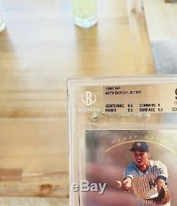 1993 Foil Sp Derek Jeter # 279 Rookie Yankees Gem Mint Rc Bgs 9,5 = 10 Psa