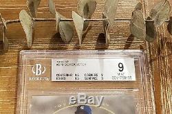 1993 Sp Derek Jeter # 279 Foil Recrue Bgs 9 (9,5, 9,5, 9, 9). 5 De Gem Mint