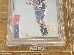 1993 Sp Derek Jeter Foil # 279 Recrue Yankees Bgs 9 Avec (2) Gem Mint 9.5 Psa
